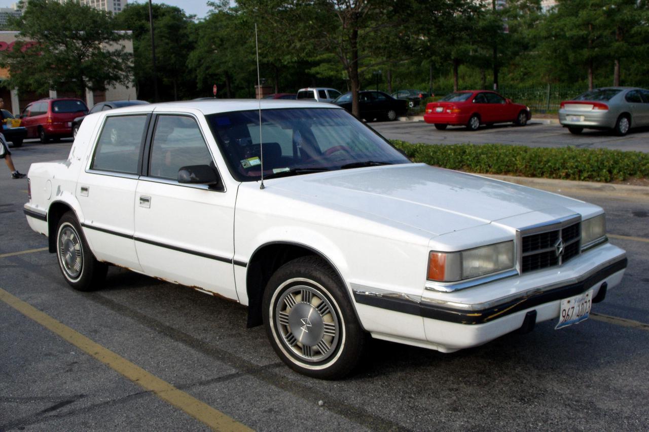 Dodge Dynasty on 1990 Dodge Dynasty Le