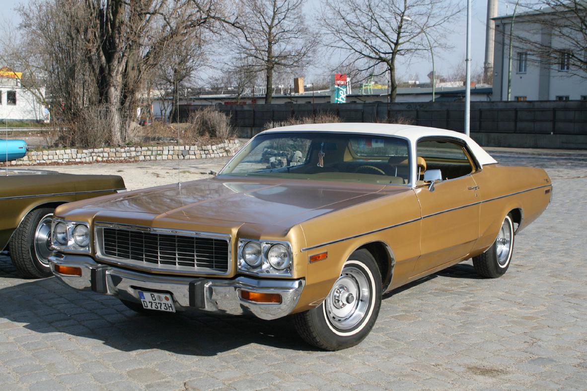 SOLD - 1973 Polara 2-door (Indiana) | Bluesmobiles