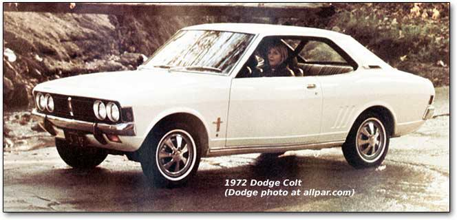 1972 dodge colt i 1972 colt a. Black Bedroom Furniture Sets. Home Design Ideas